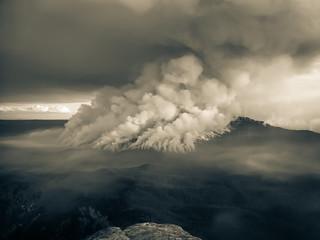 Mt. Solitary Ablaze II