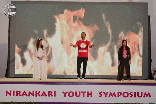 Skit by young devotees
