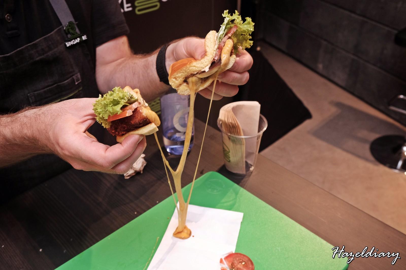 Shack Shack Singapore-Shroom Burger