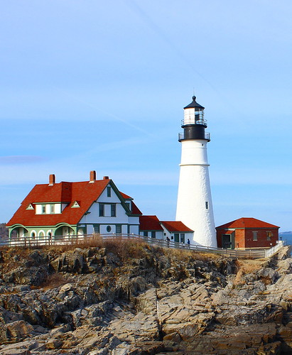 unitedstates lighthouse portland maine me phare licensed exclusive getty us usa newengland