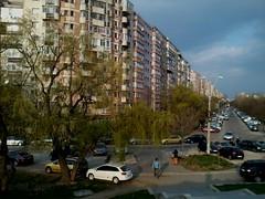 Crângași district, Bucharest - lo fi with 2 mpx camera of Samsung Galaxy Y