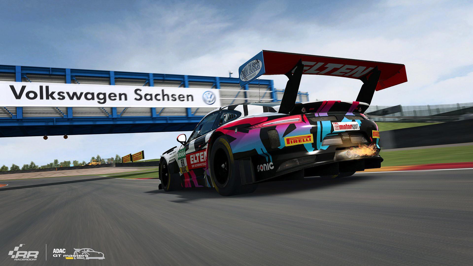 RaceRoom ADAC GT Masters 2018 Porsche 8