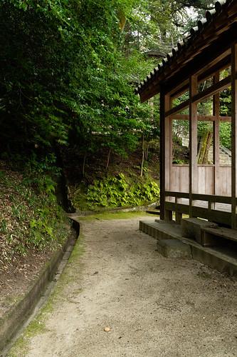 生駒 神社 生駒大社 奈良 日本 ikoma shrine nara japan morning 朝日 sunrise