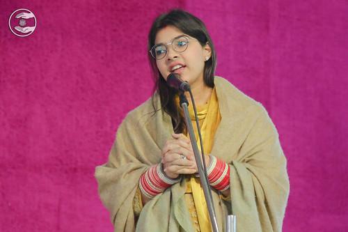 Sadhika Chaudhary from Faridabad Haryana, expresses her views