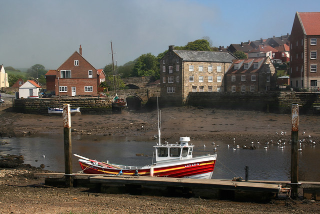 The River Esk, Whitby