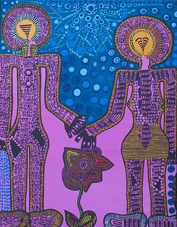 ציורים אקריליק על בד מירית בן נון אומנית יוצרת