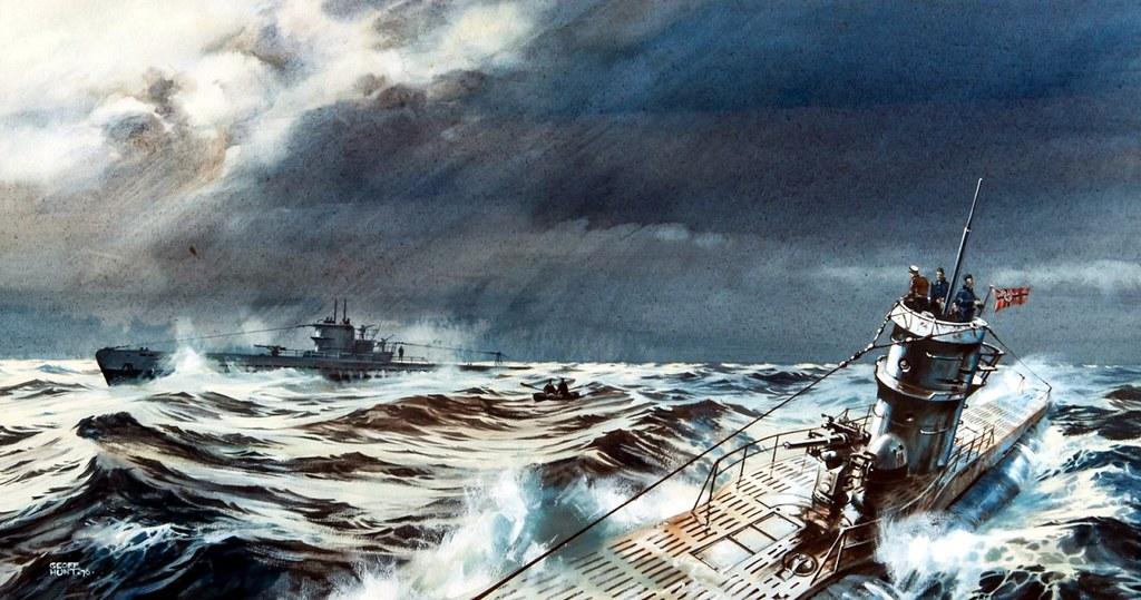 1940 U-boote en el Atlántico - Geoff Hunt