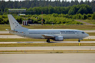 EC-IOR   Boeing 737-33A [24449] (Hola Airlines) Stockholm/Arlanda~SE 06/06/2008
