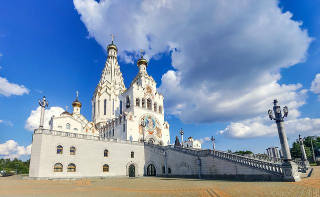 All Saints Orthodox Church in Minsk, Belarus