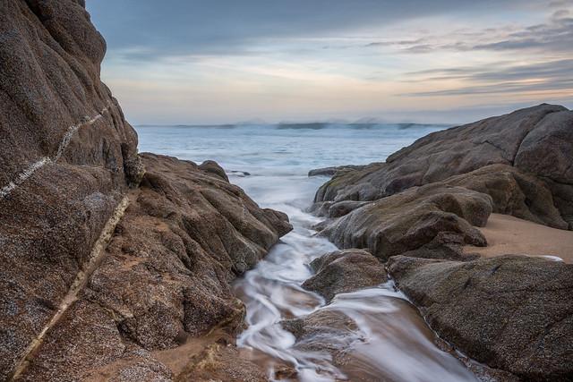 Rivulet Between Rocks