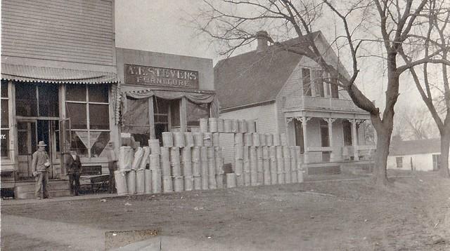 SCN_0002 AE Stevens Furniture NE Corner of Square Pleasantville Stringfellow Collection