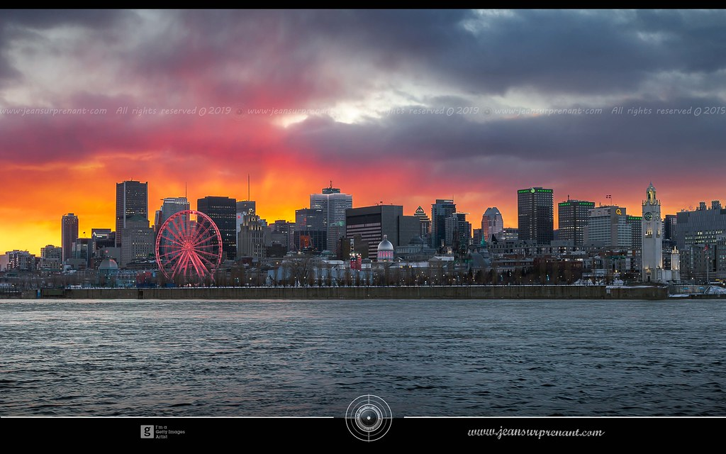 Montreal between day and night DRI