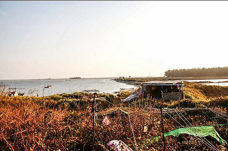 台灣本島極西點--曾文溪出海口 (2)