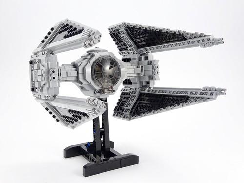 TIE Interceptor Lego MOC   by barneius industries