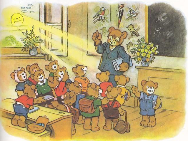 Teddybuch / Wandertag im Wichtelwald / Bild 1