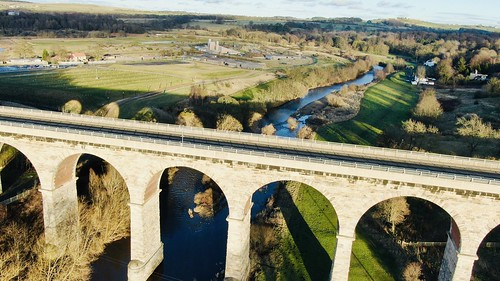 viaduct architecture photography drone countydurham bishopauckland elevenarches kynren