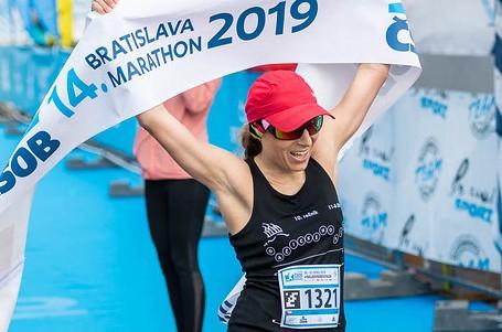 Bratislavský maraton vyhrála Češka Barbora Nováková