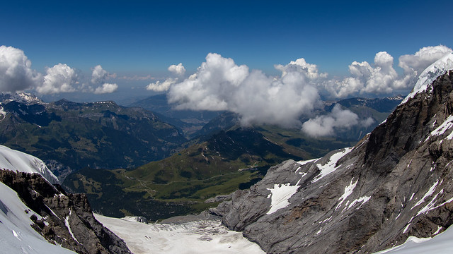 At the Top of the Swiss Alps