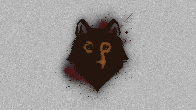 Обои волк, морда, пятна, фон картинки на рабочий стол, фото скачать бесплатно