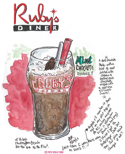 Ruby's Choc Mint Shake