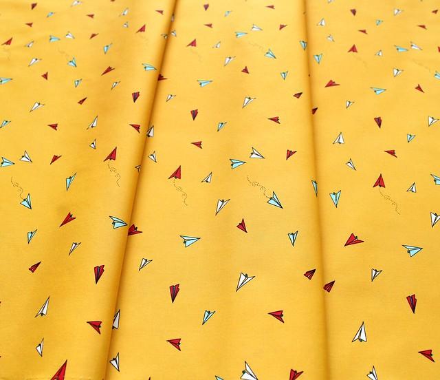 Art Gallery Fabrics Sisu Paper Plane Hopes