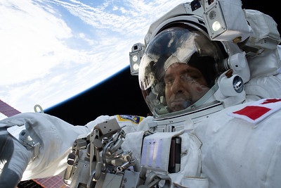 Spacewalker David Saint-Jacques of the Canadian Space Agency