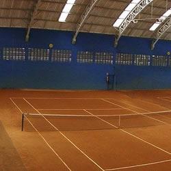 Quadra de Tênis Leal Double Tênis Unidade Parque dos Príncipes Foto Panorâmica