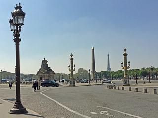 Place de la Concorde   by diamond geezer