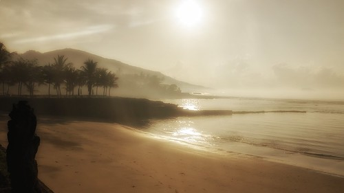 early morning in Bali