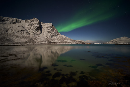 Northern Lights in Karigamelva | by arfoga