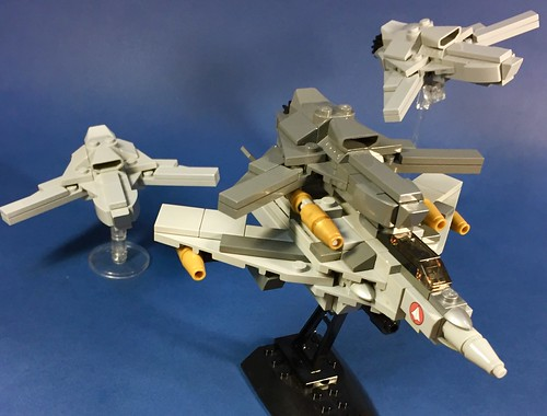 VF-0S with Ghost from MACROSS ZERO