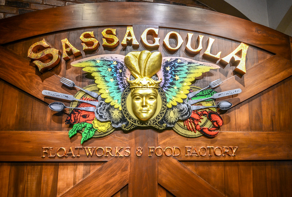 Sassagoula Floatworks sign