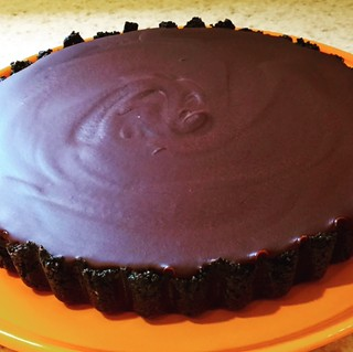 Chocolate Ganache Tart .....