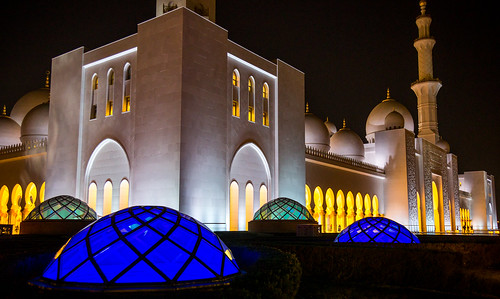 abudhabi abudhabiemirate unitedarabemirates sheikhzayedgrandmosque arab uae islam worship prayer mosque sunset travel architecture building ngc