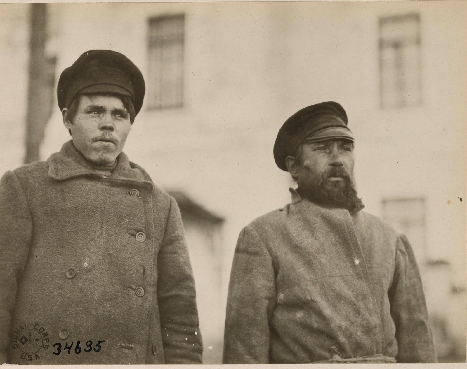 Архангельск. Арестованные большевики