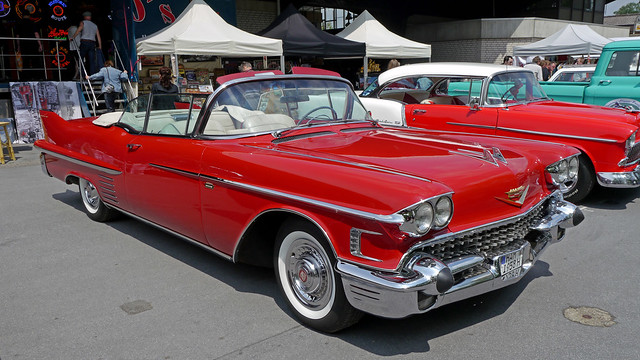 1958 Cadillac Sixty-Two Convertible ::: Style 6267X ::: 7,825 units built