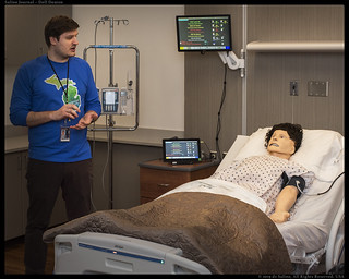 Washtenaw Community College, Nursing program Simulation Lab | by Dell Deaton