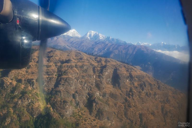 En vol vers Lukla
