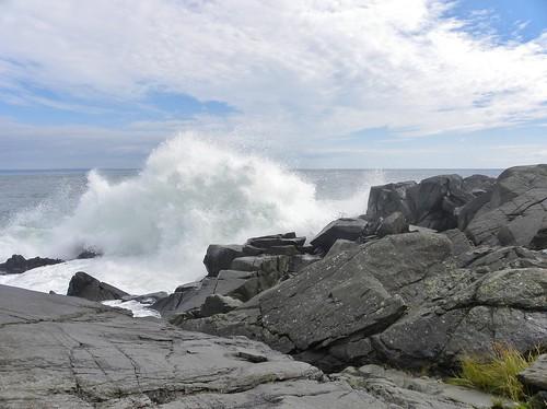 coast bold waves maine