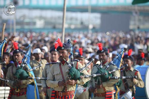 Sewa Dal Band led the procession