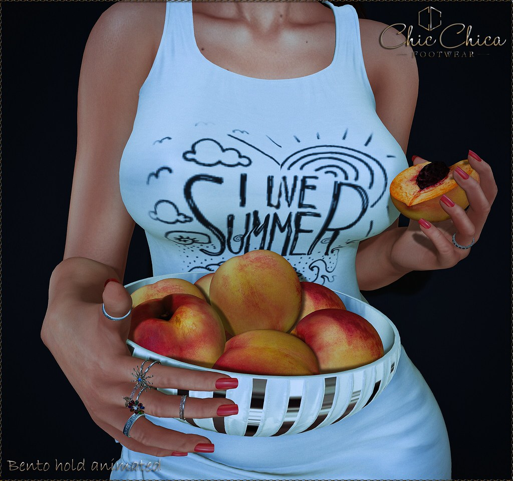 Sweet peaches by ChicChica 70 lindens for The Saturday Sale