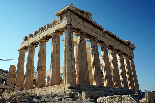 Parthenon on the Acropolis in Athens, Greece | by mattk1979