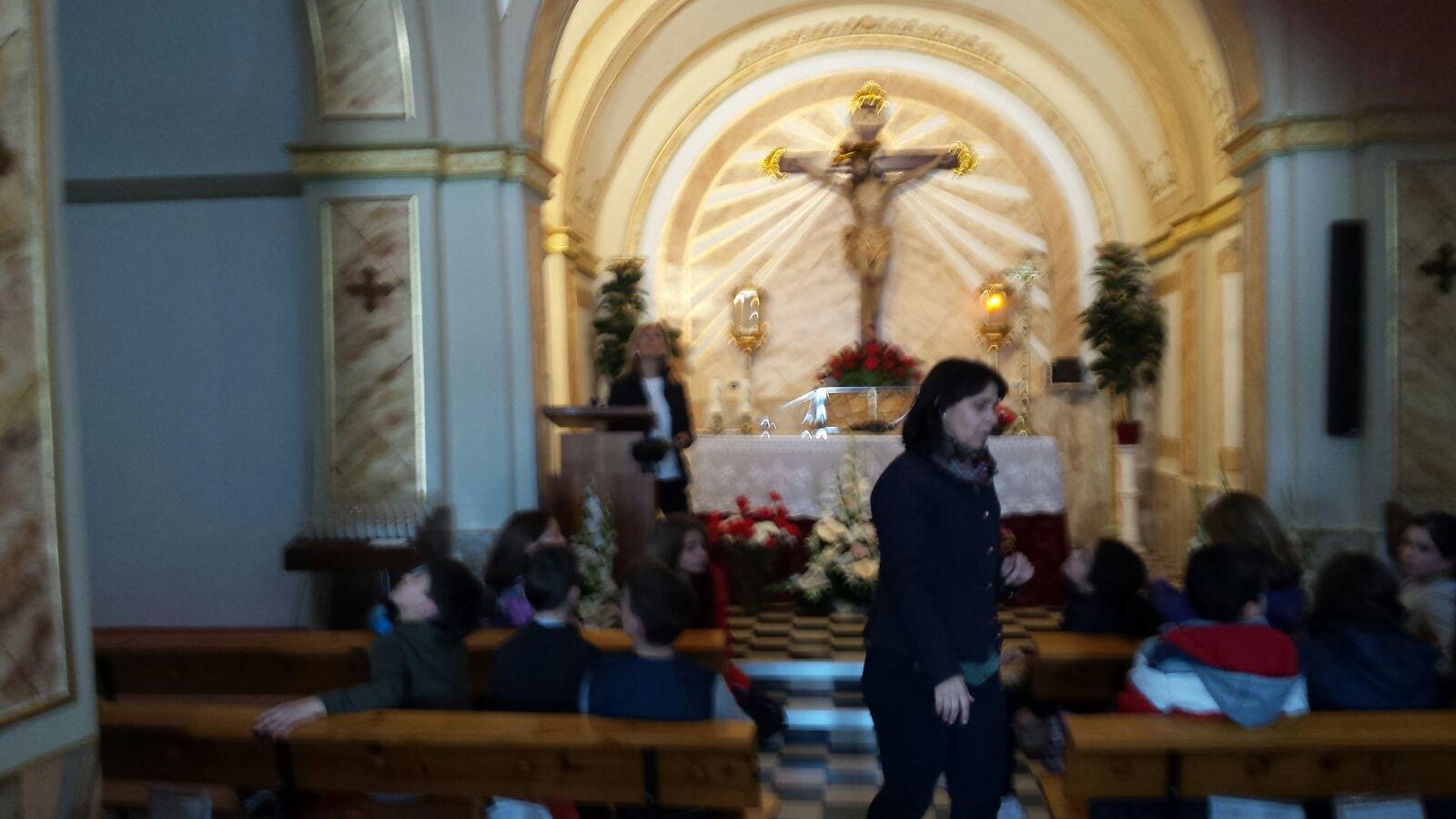 (2018-03-16) - Visita ermita alumnos Laura,3ºB, profesora religión Reina Sofia - Marzo -  María Isabel Berenguer Brotons (12)