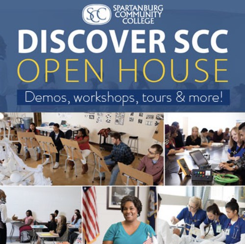 Discover SCC Open House Event, March 24, 2018