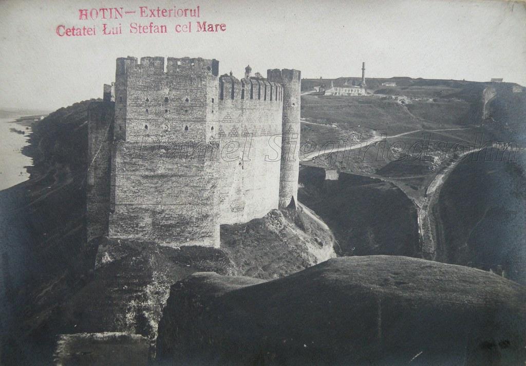 Hotin, ROMANIA  Puternica cetate medievală de strajă la