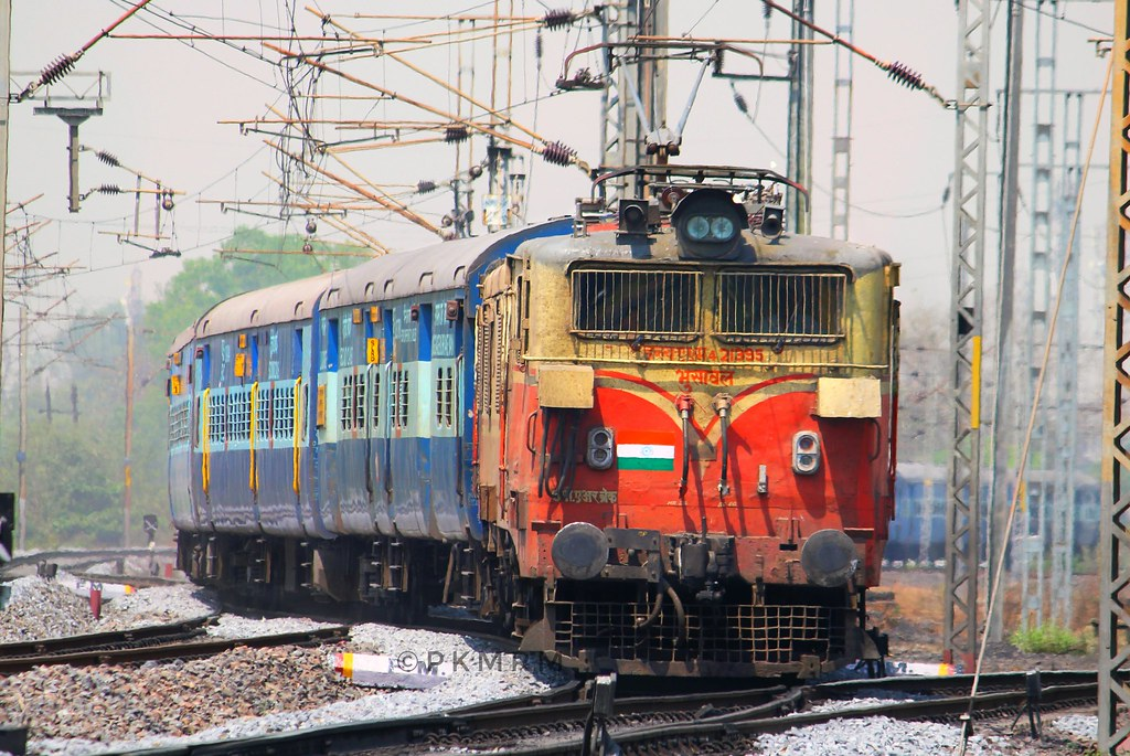 Bhusawal Wam4 6P 21395 With 18237 Chattisgarh Express