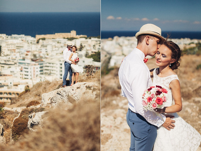 Dream wedding in Rhodes