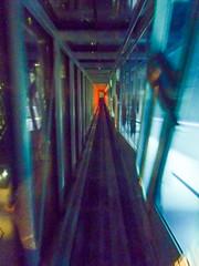 Riding on the diagonal elevator