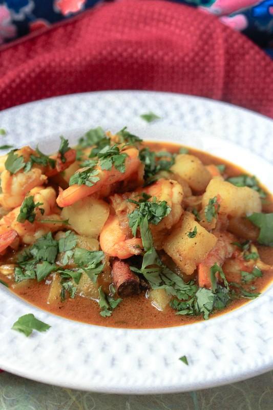 Bengali Shrimp Potato Curry 2 -edit
