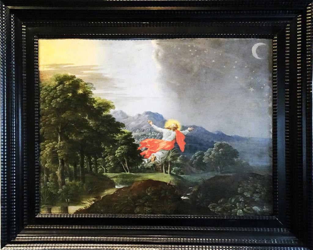 Barroco Pintura Sobre Cobre Genesis De Jacob Bouttats Sepa Flickr